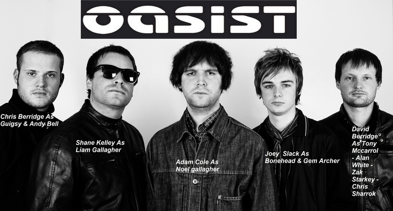 Oasis Tribute Band - Oasist  Oasis Band